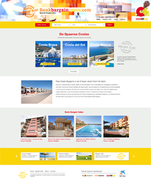 Bank Bargains Spain website