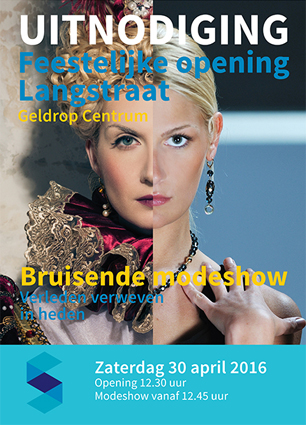 Poster Opening Laagstraat