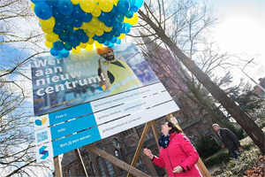 Bouwbord Geldrop Centrum