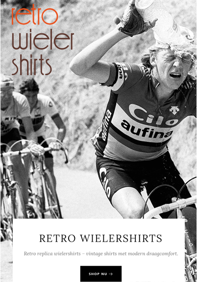 Retro-Wielershirts