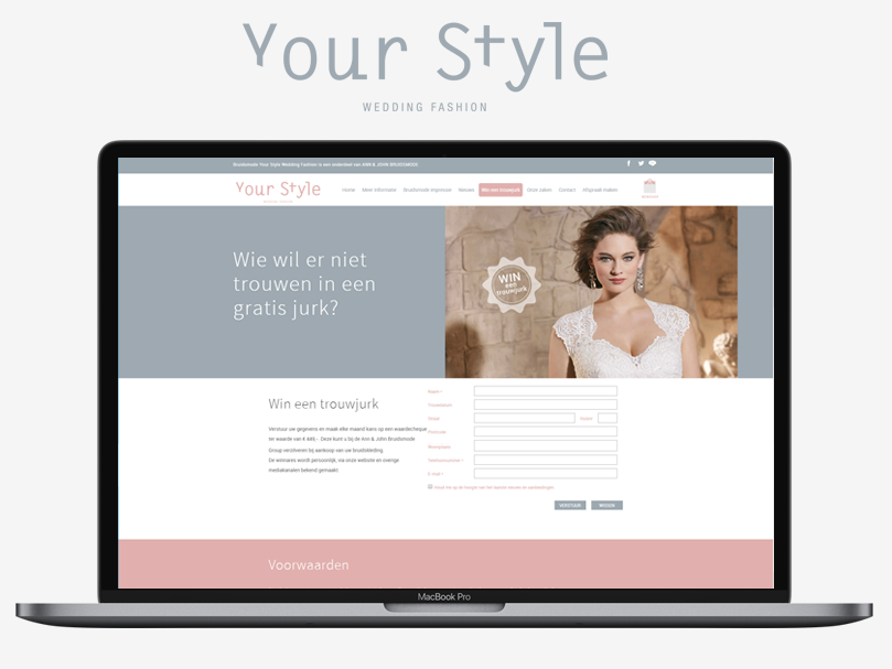 your style wedding fashion website